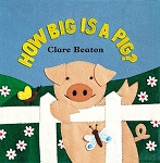 How Big is a Pig? Board Book