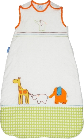 Pattern for grobag baby sleeping bags | Plantation Cable