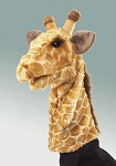 Giraffe Stage Puppet by Folkmanis