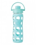 LifeFactory Flip Cap Glass Bottle (16oz)