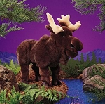 Moose Puppet by Folkmanis