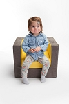 Modern Cubino Kids Chair / Loveseat