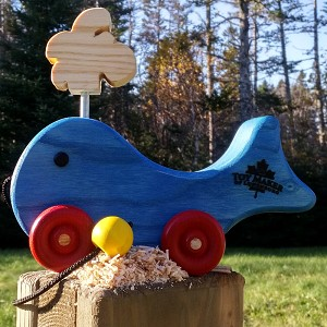 Pull Toy Whale