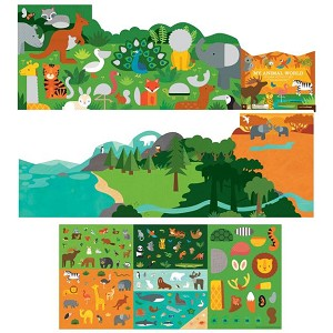 Petite Collage Sticker Activity Set - My Animal World