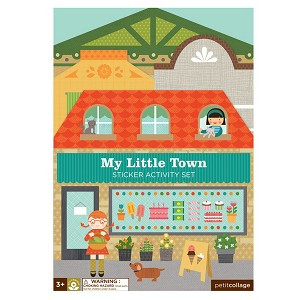 Petite Collage Sticker Activity Set - My Little Town