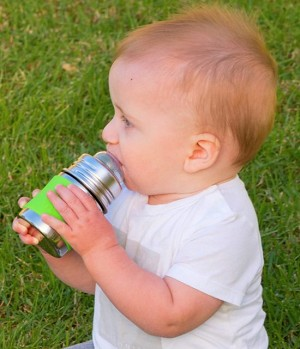 Pura 150ml Stainless Steel Infant Bottle