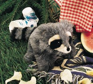 Baby Raccoon Puppet by Folkmanis