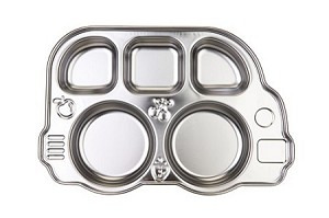 Stainless Bus Platter