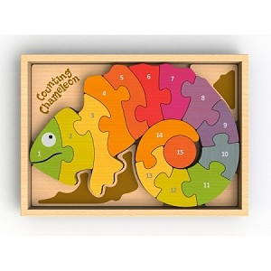 Counting Chameleon Puzzle by Begin Again