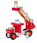 Do It Yourself Fire Truck by Janod