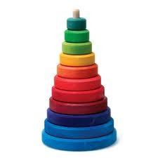 Grimm's Rainbow Stacking Tower (11000)