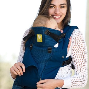 Lillebaby Complete - All-Season Carrier - Navy