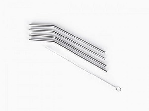 Stainless Steel Straws 4 pack for KIDS