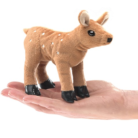 Folkmanis Fawn Finger Puppet