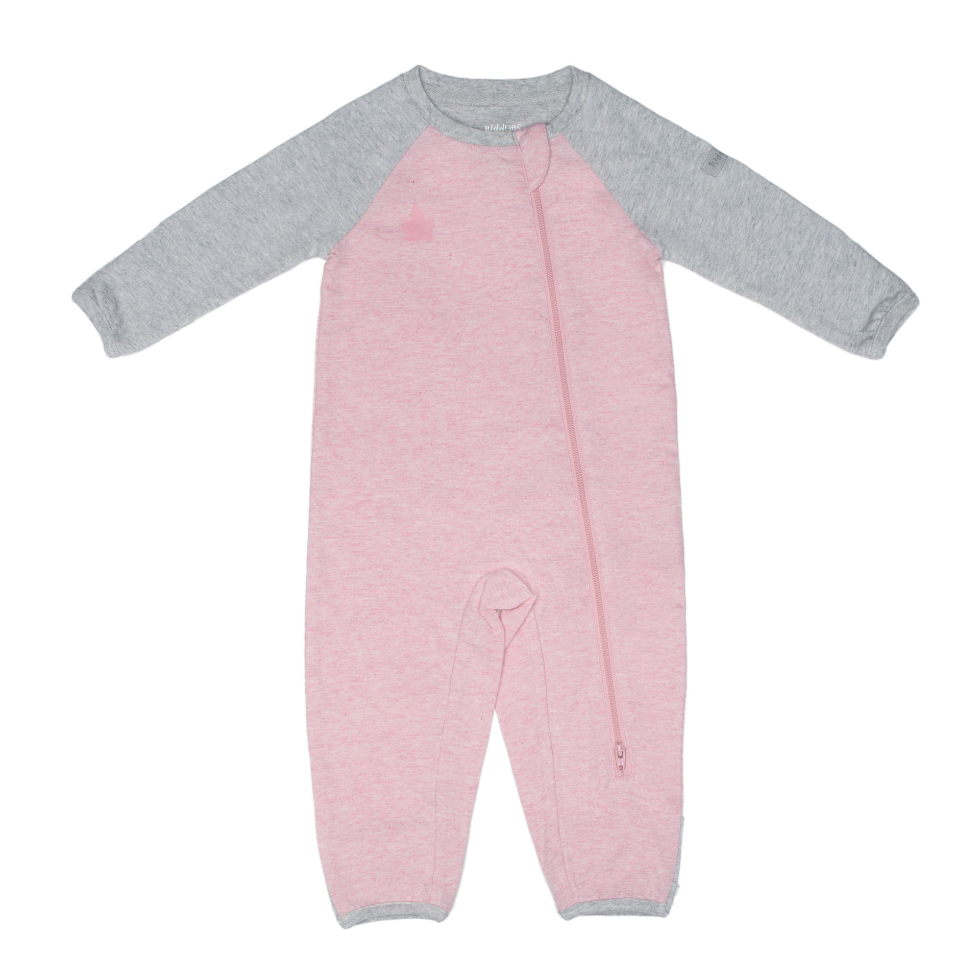 Juddlies Organic Cotton Raglan Playsuit / Sleeper