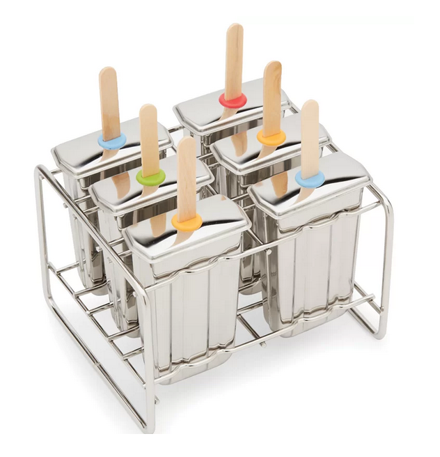 Stainless Steel Popsicle Maker - Paddle Style (POP004)
