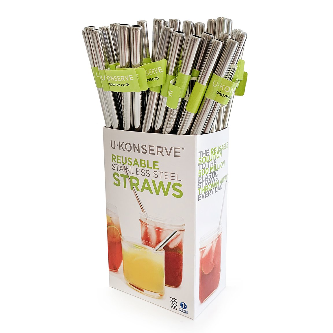 U Konserve Single Stainless Steel Straw