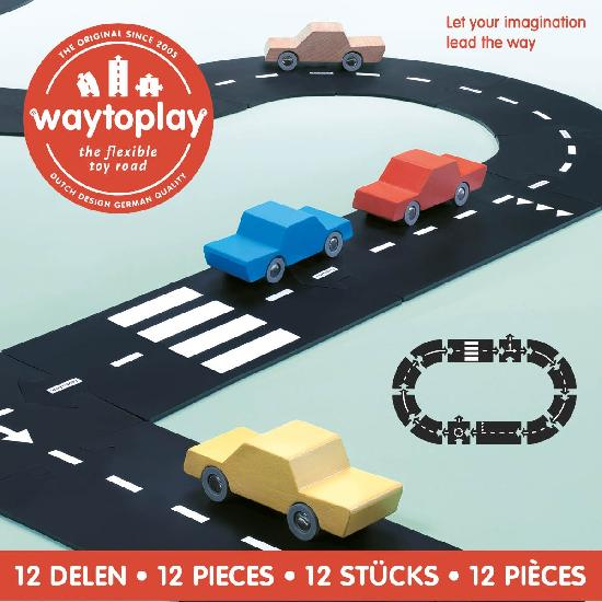 waytoplay 12 piece Ring Road Set