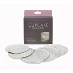 Cupcake Reusable Nursing Pads by Cake (3 pair with carry bag)