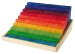 Grimm's Stepped Counting Blocks (100pcs) (2cm)