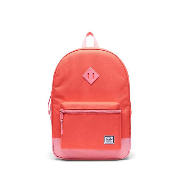 Herschel Heritage Youth Reflective Backpack XL - Flamingo Pink and Hot Coral