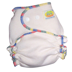 AMP Organic Hemp Fitted Diapers