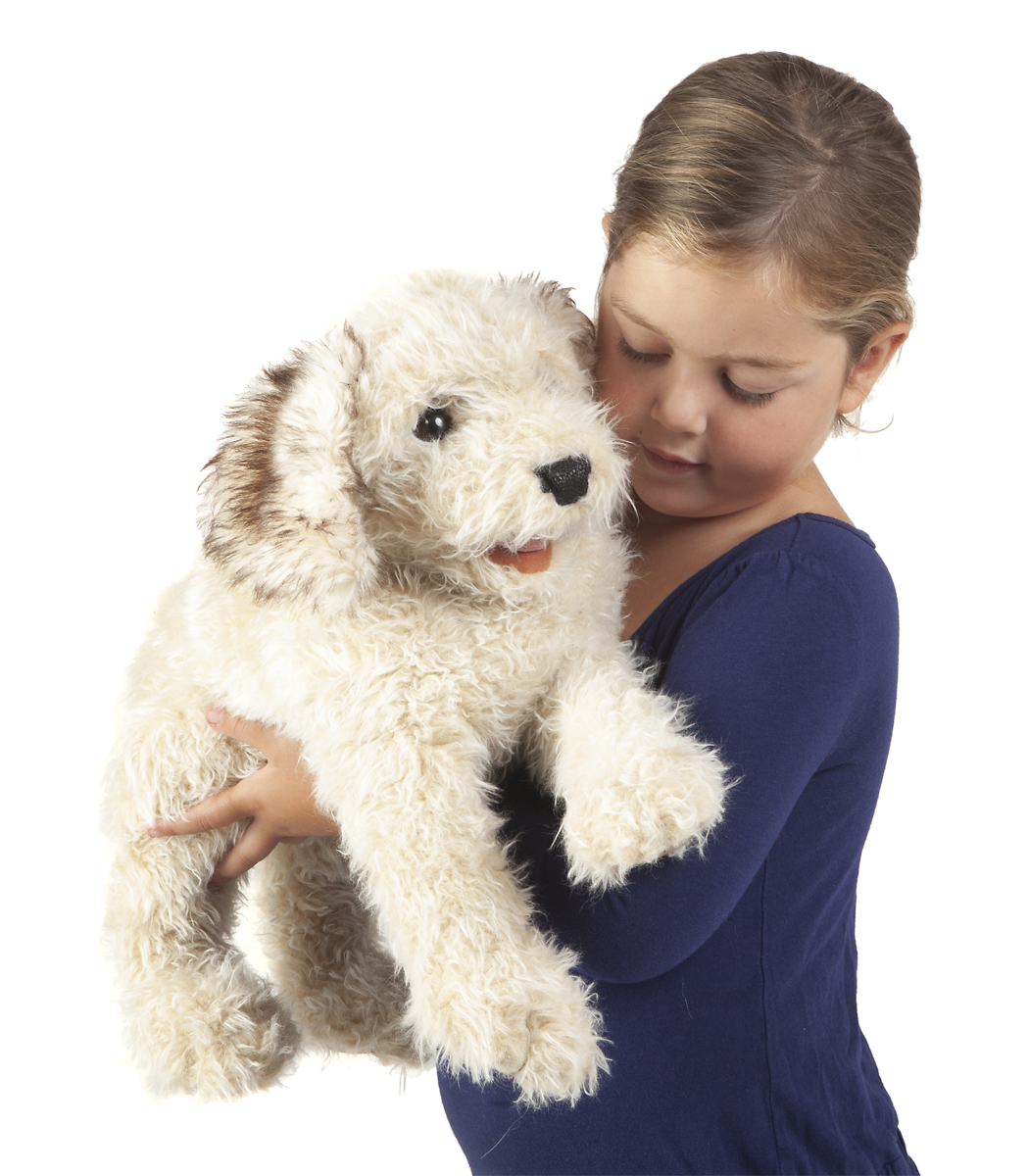 Folkmanis Labradoodle Puppey