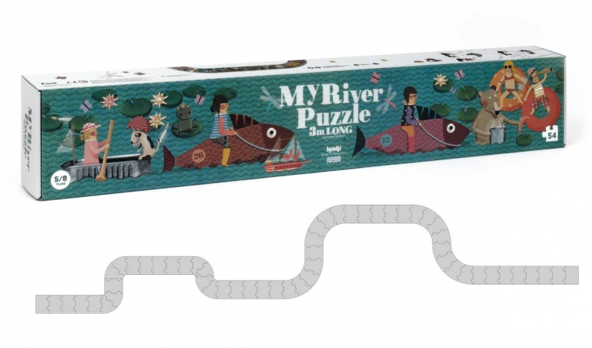 My River Puzzle Puzzle by Londji