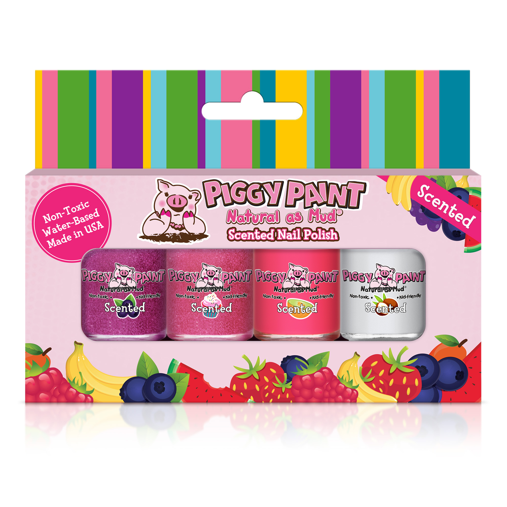 Piggy Paint Scented Gift Set - Sweet Treats