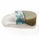 Organic Soap Scrubbie by Anointment