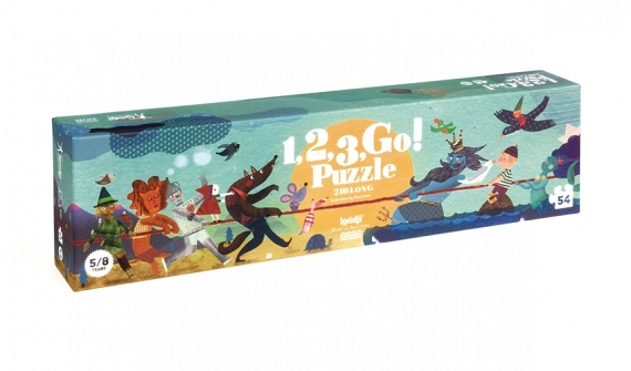 1, 2, 3 GO! Puzzle by Londji