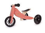 Kinderfeets Tiny Tot 2-in-1 Balance Bike - Coral