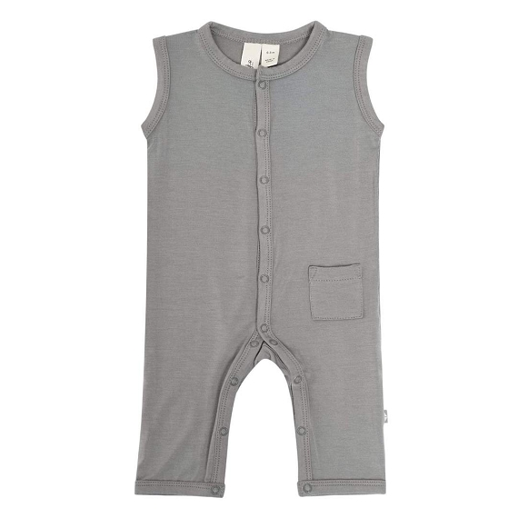Kyte Baby Bamboo Snap Sleeveless Romper (1415) - FINAL SALE CLEARANCE