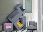 Modern Cubino Kids Chair by Monte Design