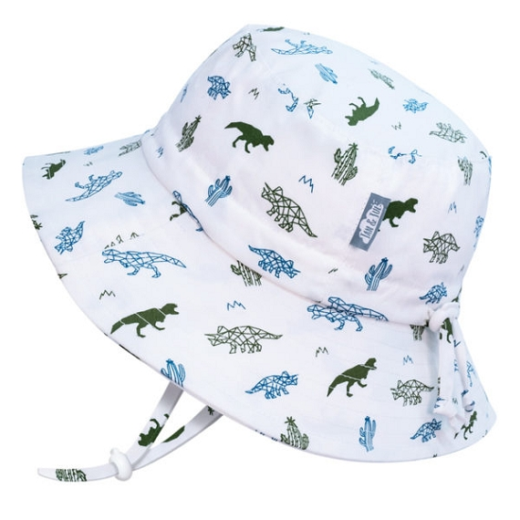 Jan and Jul Gro with Me Bucket Hat - Dino