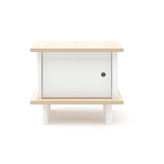 OEUF ML Nightstand - White/Birch