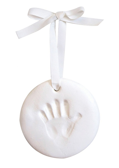 BabyPrints Circle Ornament by Pearhead