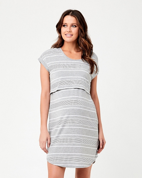 Stevie Nursing Lounge Dress