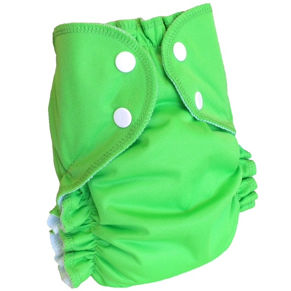 AMP Stay Dry Diaper ALL-IN-ONE with Snaps