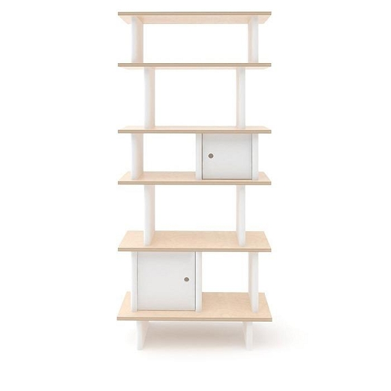 OEUF Vertical Library - White/Birch