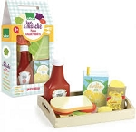 Vilac Wooden Snack Break Set