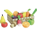 Vilac Wooden Fruit and Veggie Set