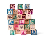 Nursery Rhyme Blocks by Uncle Goose