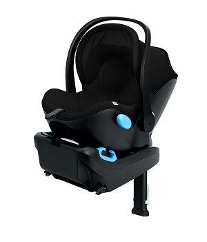 2020 clek LIING Infant Carrier Seat - Pitch Black (Tailored C-Zero Plus Fabric)