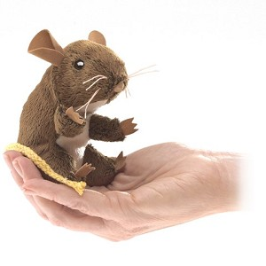 Folkmanis Field Mouse Finger Puppet