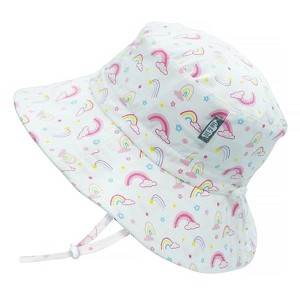 Jan and Jul Gro with Me Bucket Hat - Rainbow