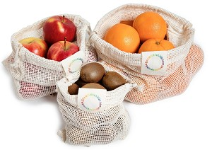 Mesh Produce Bags (Set of 3)
