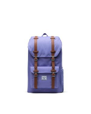 Herschel Little America Backpack - Aster Purple and Saddle Brown