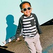 Keyhole shaped sunglasses for kids