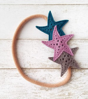 The Yellow Birdhouse Starfish Headband